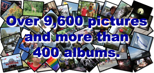 Over 4,200 pictures and more than 180 albums