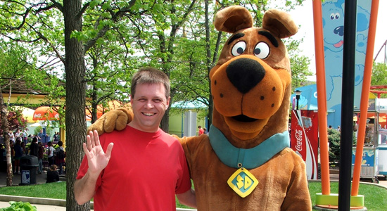 Me and Scooby Doo