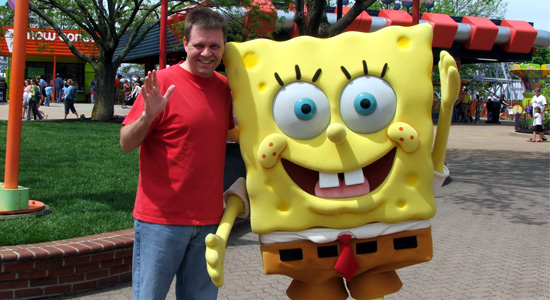 Me and Spongebob Squarepants