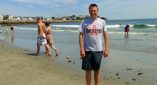 Me on Hampton Beach