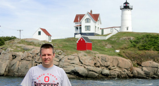 Me and Nubble Lighthouse