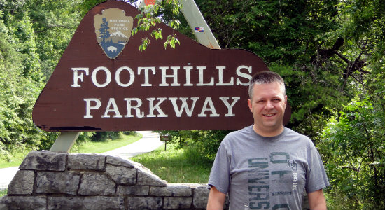 Me and the Foothills Parkway
