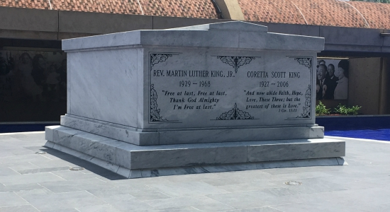 Tomb of Dr. Martin Luther King, Jr.