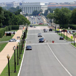 Lincoln Memorial, Memorial Bridge and Drive