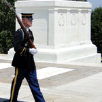 Sentinels guard the Tomb
