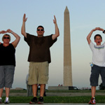 Crissy, Derek and Jake