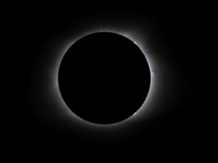 Solar Eclipse, Cross Plains, Tennessee - 8/21/2017